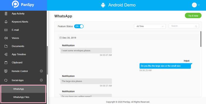 hack whatsApp messages without phone